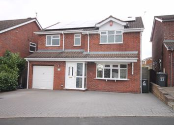 Thumbnail 5 bed detached house for sale in Churston Close, Clayton, Newcastle-Under-Lyme