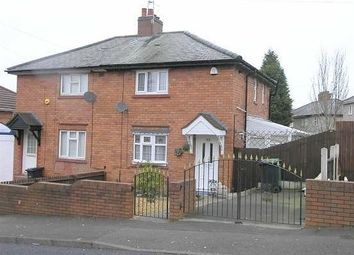 Thumbnail 2 bed semi-detached house to rent in Laurel Road, Dudley