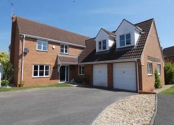 Thumbnail 5 bed detached house to rent in Lime Close, Ruskington, Lincolnshire