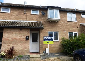 Thumbnail 3 bedroom terraced house to rent in Tantallon Court, Longthorpe, Peterborough