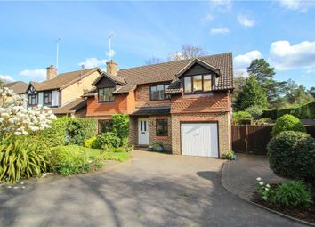 Thumbnail 5 bedroom detached house for sale in Knights Way, Camberley, Surrey