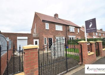 Thumbnail 2 bed semi-detached house for sale in Cambridge Road, Silksworth, Sunderland