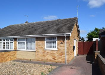 Thumbnail 2 bed semi-detached bungalow for sale in Lawson Avenue, Stanground, Peterborough