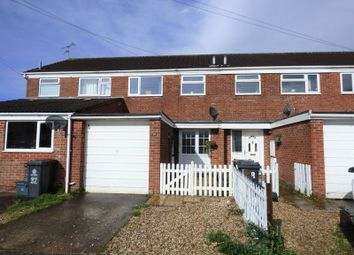 Thumbnail 3 bed terraced house for sale in Tidswell Close, Quedgeley, Gloucester