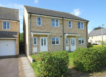 Thumbnail 2 bedroom semi-detached house for sale in Wellbrook Way, Girton