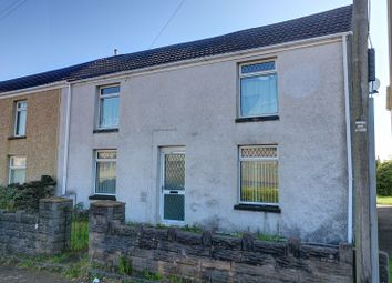 Thumbnail 3 bed end terrace house for sale in Neath Road, Morriston, Swansea.