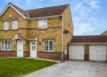 Thumbnail 2 bed semi-detached house for sale in Holly Avenue, Creswell, Worksop, Derbyshire