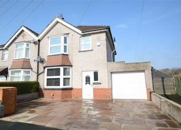 Thumbnail 3 bed semi-detached house for sale in Moorland Crescent, Clitheroe, Lancashire