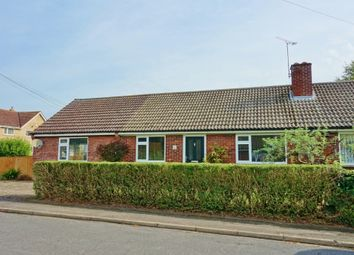 Thumbnail 3 bedroom bungalow to rent in Vicarage Close, Dullingham, Newmarket