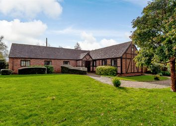 Thumbnail 4 bed detached bungalow for sale in Pumphouse Lane, Hanbury, Worcestershire