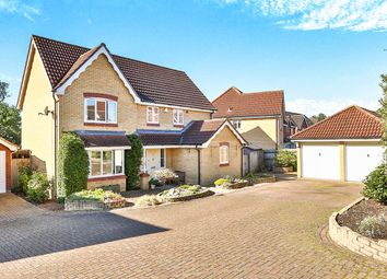 Thumbnail 4 bedroom detached house for sale in Warren Close, Horsford, Norwich