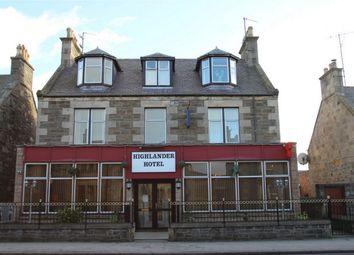 Thumbnail Commercial property for sale in Highlander Hotel, 75 West Church Street, Buckie, Moray