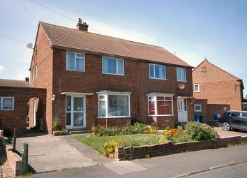 Thumbnail 3 bed semi-detached house for sale in Saxon Road, Whitby
