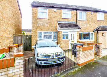 Thumbnail 3 bed semi-detached house for sale in Hillgrounds Road, Kempston, Bedford