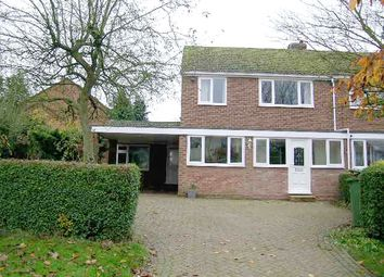 Thumbnail 3 bed semi-detached house to rent in Austrey Lane, Newton Regis, Tamworth, Warwickshire