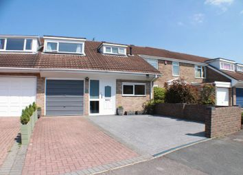 Thumbnail 3 bed terraced house for sale in Hollam Crescent, Fareham