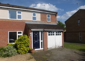 Thumbnail 4 bedroom semi-detached house for sale in Cygnet Close, Sleaford
