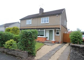 Thumbnail 2 bed semi-detached house for sale in St. Marys Road, Bishopbriggs, Glasgow, East Dunbartonshire