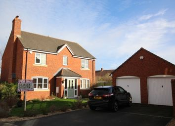 Thumbnail 4 bed detached house for sale in Moravia Close, Bridgwater