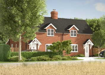 Thumbnail 3 bed semi-detached house for sale in Bury Road, Alpheton, Sudbury