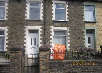 Thumbnail 3 bed terraced house to rent in Bank Street, Penygraig, Rhondda Cynon Taff.
