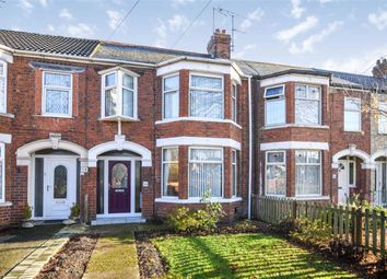 Thumbnail 4 bed terraced house for sale in Fairfax Avenue, Hull