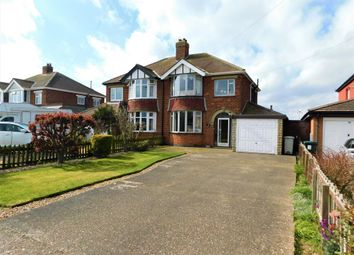 Thumbnail 3 bed semi-detached house for sale in Huttoft Road, Sutton-On-Sea, Lincs.