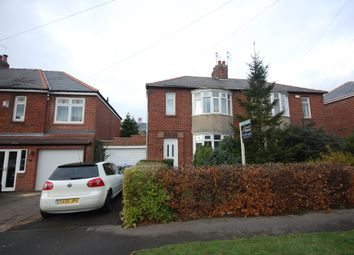 Thumbnail 3 bed semi-detached house to rent in Durham Moor Crescent, Durham City, Durham