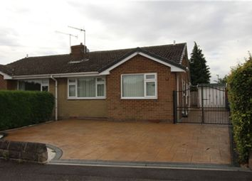 Thumbnail 2 bed bungalow to rent in Barholme Close, Upper Newbold, Chesterfield, Derbyshire