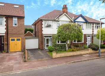Thumbnail 3 bed semi-detached house for sale in Chatsworth Road, West Bridgford, Nottingham