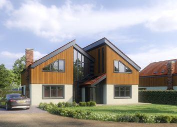 Thumbnail 5 bed detached house for sale in Leys Lane, Attleborough