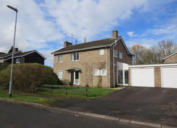 Thumbnail 4 bedroom detached house for sale in Mailes Close, Barton, Cambridge