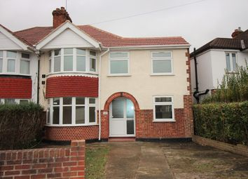 Thumbnail 4 bed semi-detached house to rent in Richmond Avenue, Feltham