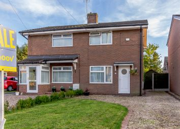 Thumbnail 2 bed semi-detached house for sale in Wessex Close, Shavington, Crewe