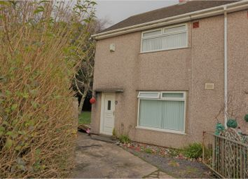 Thumbnail 2 bed end terrace house for sale in Creswell Road, Clase