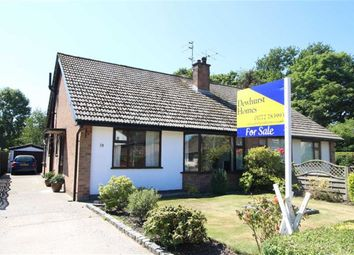Thumbnail 2 bed semi-detached bungalow for sale in Tunbrook Avenue, Grimsargh, Preston