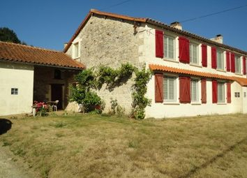 Thumbnail 4 bed property for sale in Beaulieu-Sur-Sonnette, Charente, France