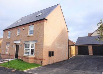 Thumbnail 5 bed detached house for sale in Steele Crescent, Abergavenny