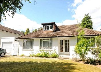 Thumbnail 4 bedroom detached bungalow for sale in Trotsworth Avenue, Virginia Water, Surrey