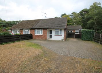 Thumbnail 3 bed semi-detached bungalow for sale in Ridgemont, Bellew Road, Deepcut, Camberley