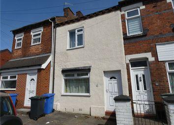 Thumbnail 2 bed terraced house for sale in Sackville Street, Stoke-On-Trent, Staffordshire