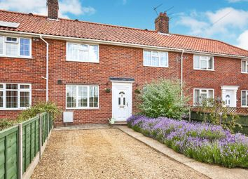 Thumbnail 3 bed terraced house for sale in Bowers Close, Norwich