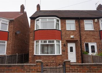 Thumbnail 3 bed semi-detached house for sale in Mollison Road, Hull