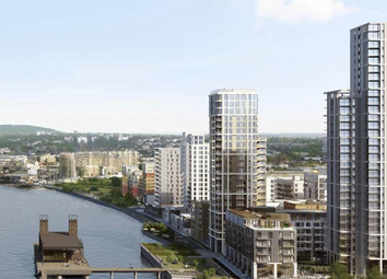 Thumbnail 2 bed flat for sale in The Waterman, Lower Riverside, Greenwich Peninsula, London