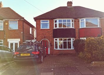 Mildenhall Road, Great Barr, Birmingham B42. 3 bed semi-detached house for sale