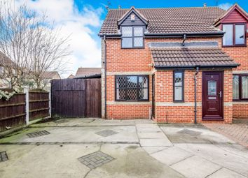Thumbnail 2 bed semi-detached house for sale in West Green Drive, Kirk Sandall, Doncaster