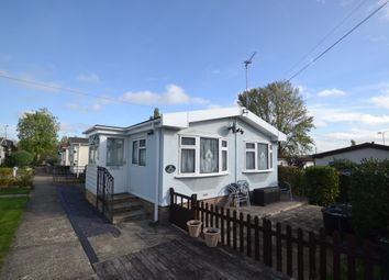 Thumbnail 2 bedroom mobile/park home for sale in North End, Cummings Hall Lane, Noak Hill, Romford