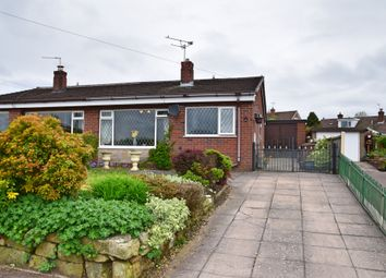 Thumbnail 2 bed semi-detached bungalow for sale in Holyhead Crescent, Weston Coyney, Stoke-On-Trent