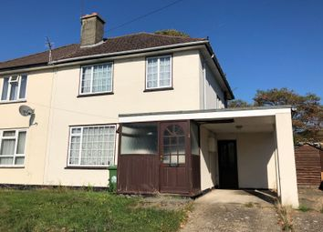 Thumbnail 3 bed semi-detached house for sale in Bramley Crescent, Sholing, Southampton, Hampshire