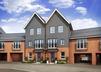 "Thumbnail 5 bed terraced house for sale in ""Faversham Special"" at Cranmore Circle, Broughton, Milton Keynes"